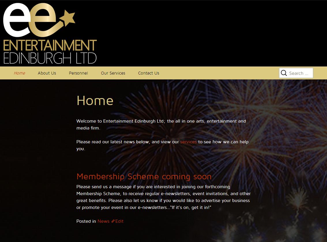 Entertainment Edinburgh