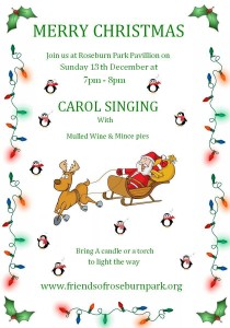 Carol Singing Poster