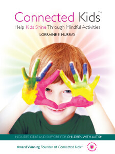 connected kids - mindfulness and autism, adhd boy on book cover
