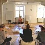 teaching kids meditation europe